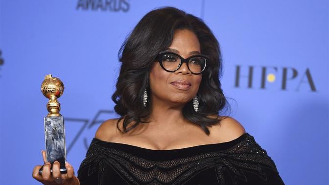 Save Us Lady O! Golden Globes Fuel #Oprah2020 Talk