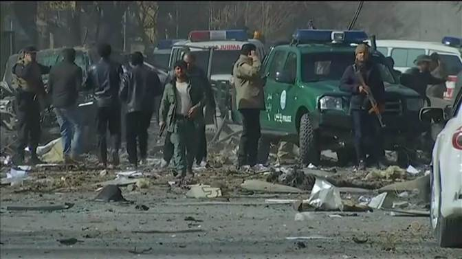 Death Toll Continuing To Rise In Kabul Suicide Car Bombing