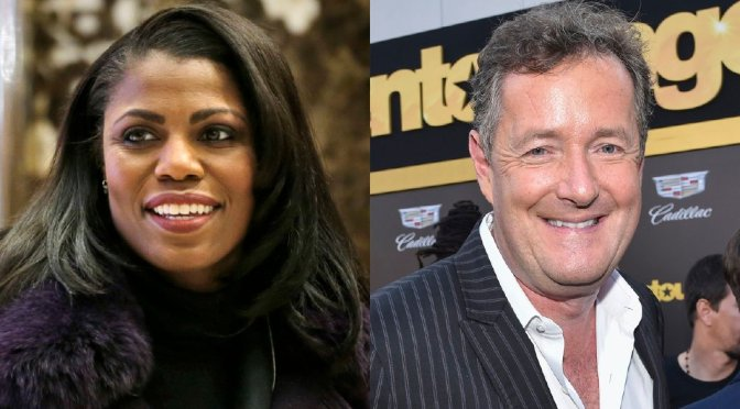 Piers Morgan Says Omarosa Asked Him For Sex
