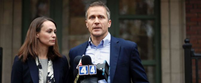 Missouri Governor Arrested, Booked On Invasion Of Privacy Charge
