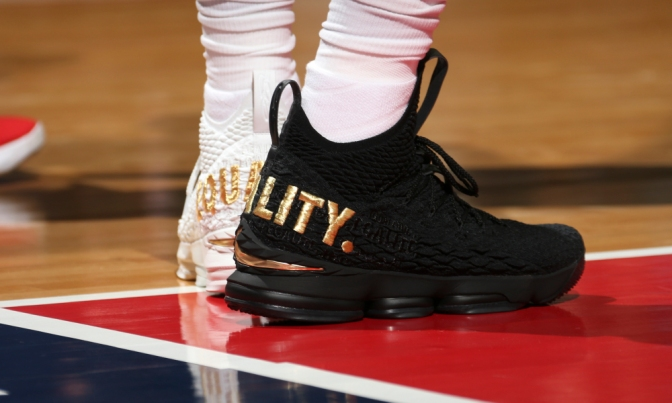 NBA players Step Toward Equality In Limited Edition Sneakers