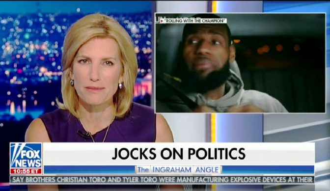 Ingraham's Insult To King James Prompts Question.. How Many Kids Have You Put Through School, Laura?