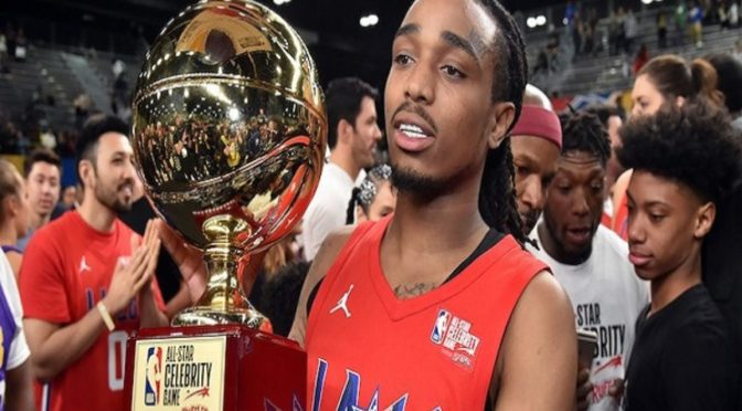 Rapper Quavo Helps Clippers Beat Lakers In Celebrity Game