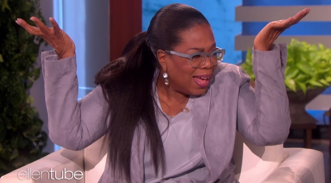 "Oprah Responds To Trump ""60 Minutes"" Tweet"