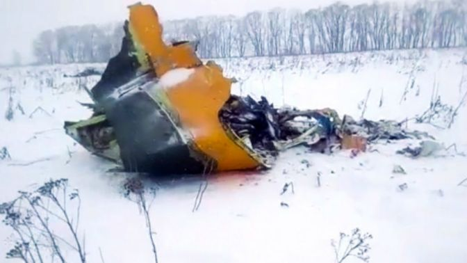 Russia Says All 71 On Board Passenger Plane Died In Crash