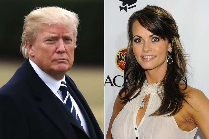 Catch And Kill: Former Playboy Playmate Alleges Affair With President Trump
