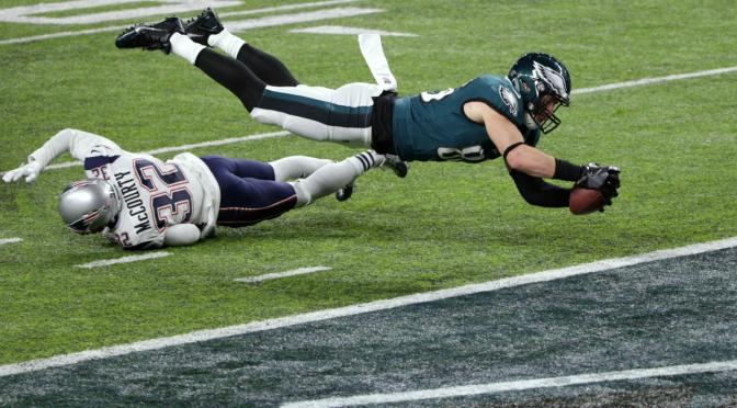 Eagles Beat Pats In Super Bowl 52 Behind Monster Offensive Performance