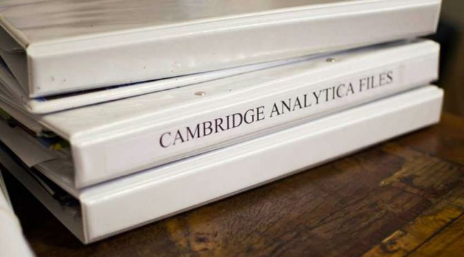 Facebook Sued Over Cambridge Analytica Scandal