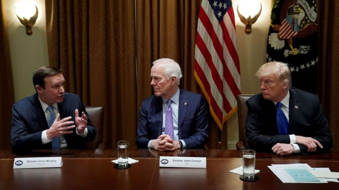 CT Senator: Trump Sending Mixed Messages On Gun Control