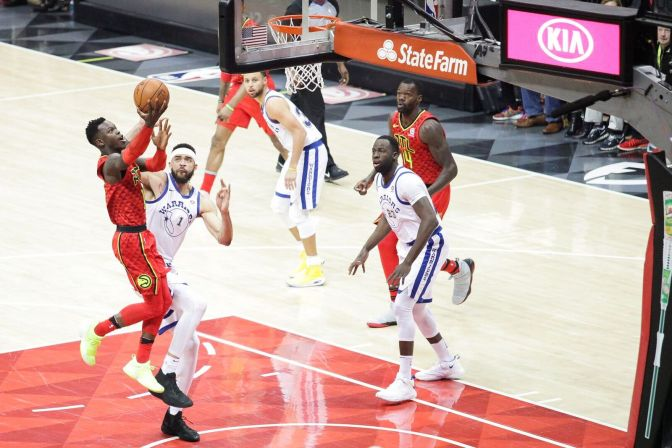 Warriors Hold Off Hawks, But It Wasn't Easy