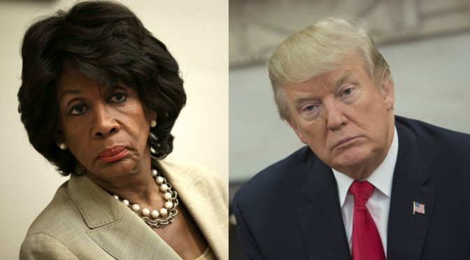 California Lawmaker Maxine Waters Says Between Mueller And Stormy, Trump Will Get His