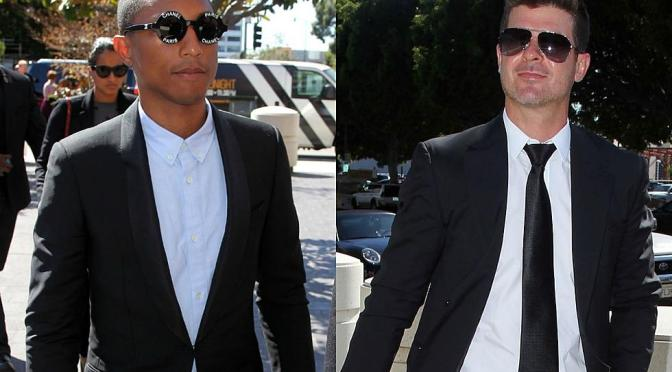 Pharrell Williams And Robin Thicke Guilty Of Plagiarism