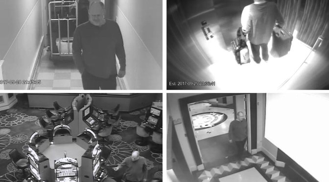 Surveillance Video Shows Las Vegas Gunman Days Prior To Massacre