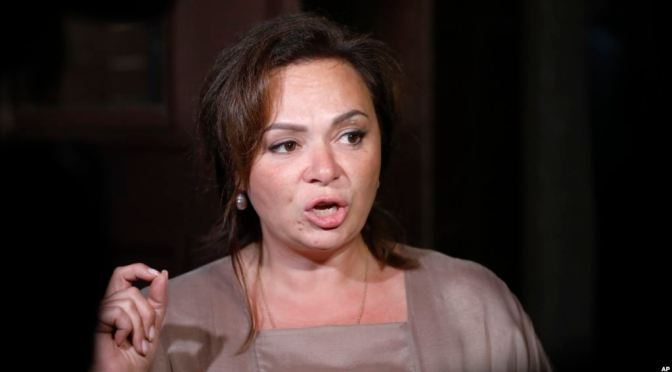 Russian Lawyer At Trump Tower Meeting An Informant