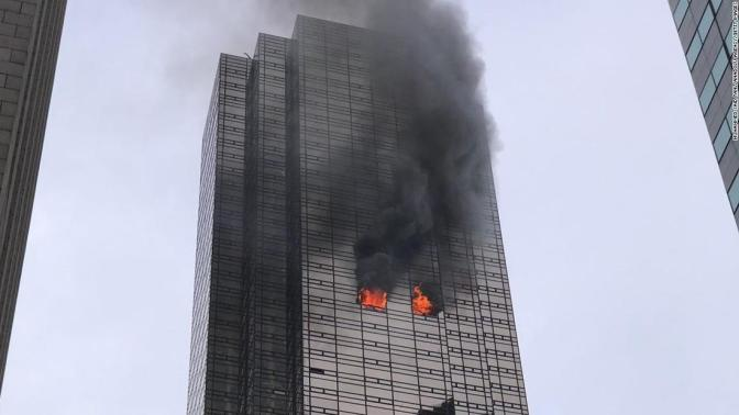One Dead In Fire At Trump Tower In New York