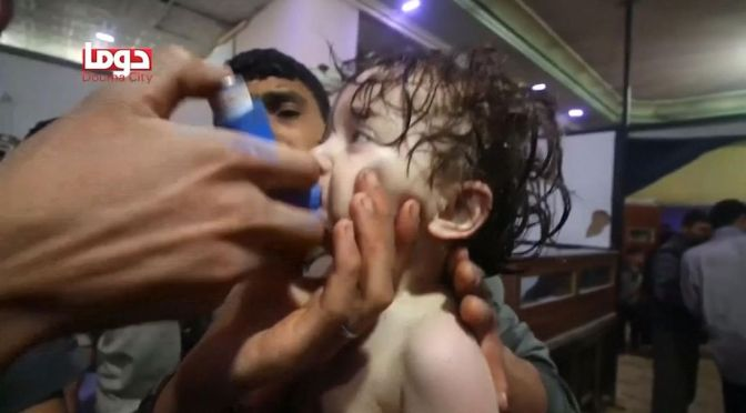 State Department Calls Alleged Syrian Chemical Attack 'Horrifying'