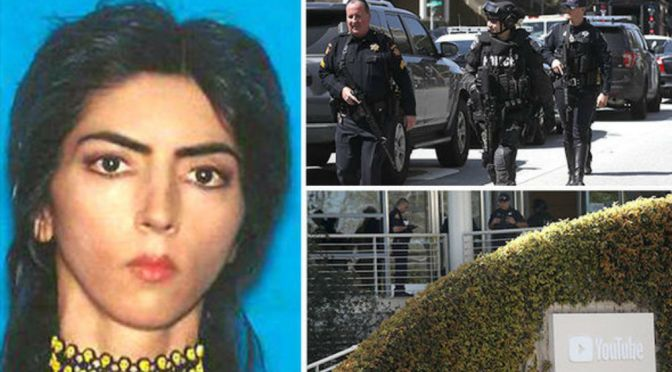 YouTube Shooter IDed As Nasim Aghdam