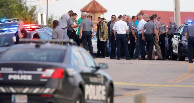 Shooter Dead After Opening Fire At Restaurant In Oklahoma