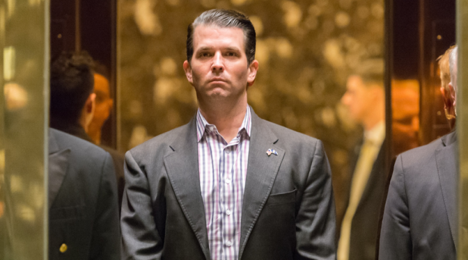 Report: Trump Jr Met With Arab Rep Offering Election Help