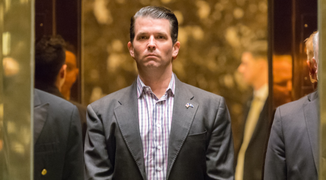 Report: Trump Jr Met With Arab Rep Offering Election Help