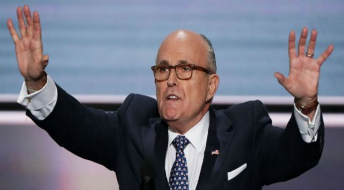 Giuliani Walks Back Talk Of N. Korea Prisoner Release