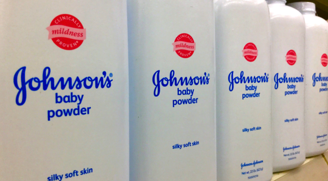 Johnson & Johnson Ordered To Pay Millions In Baby Powder Case