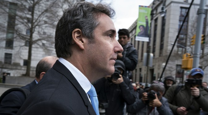 Companies Apologize For Paying Trump Personal Lawyer Michael Cohen