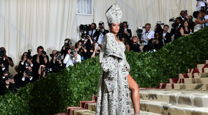 Stars Show Up In Religious Attire For Met Gala