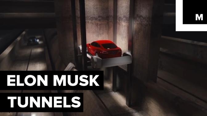 Elon Musk's Underground Tunnel Almost Complete