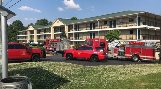 Police Sickened By Chemical At GA Hotel