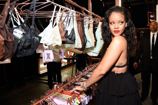 Brooklyn Pop-Up Shop Features Rihanna Lingerie