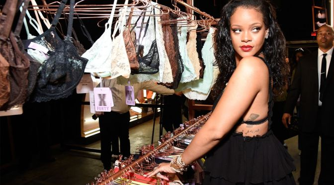 Brooklyn Pop-Up Shop Features Rihanna Lingerie