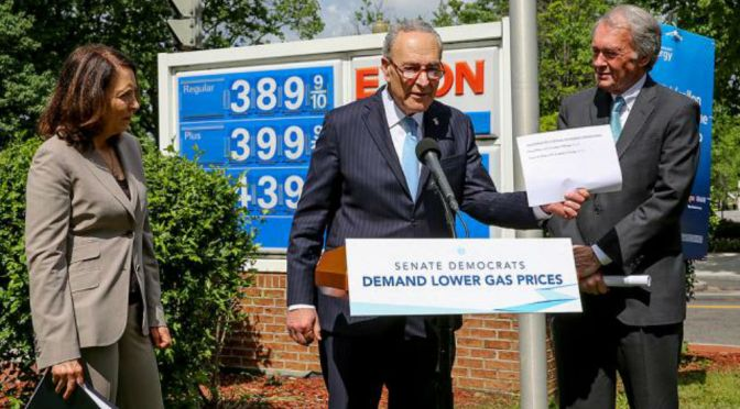 Massachusetts Senator Markey Says Republicans Are To Blame For High Gas Prices