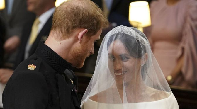 Royal Wedding: 'I Will'..Prince Harry And Meghan Markle Tie The Knot