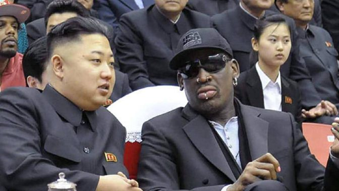Rodman Will Be In Singapore When Trump Meets Kim Jong Un