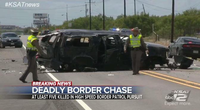 Five Dead In Fatal Border Patrol Chase