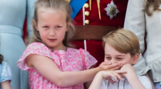 Kids Will Be Kids, Prince George And Savannah Ham It Up During Birthday Celebration For Queen Elizabeth