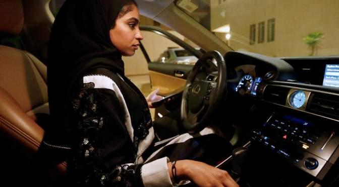 Women Can Now Drive In Saudi Arabia