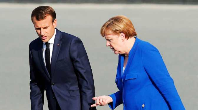 Macron Disputes Trump NATO Defense Claim