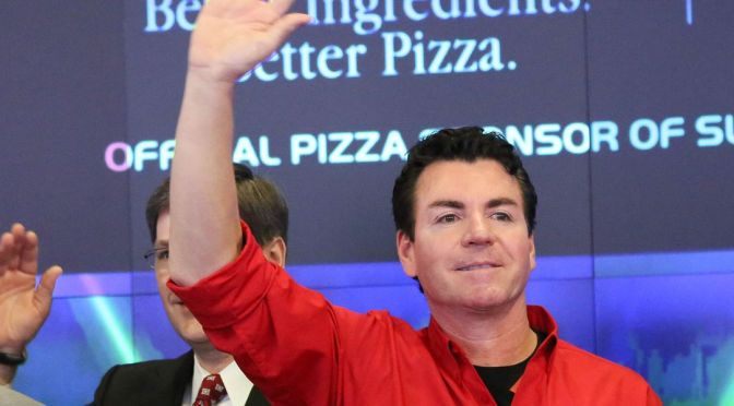 Papa John's Founder Alleges Blackmail Over Racial Slur