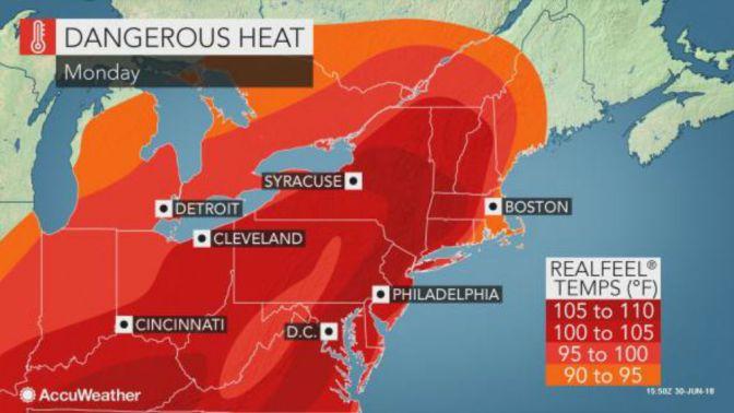 Intense Heat Wave Scorching Much Of U.S.
