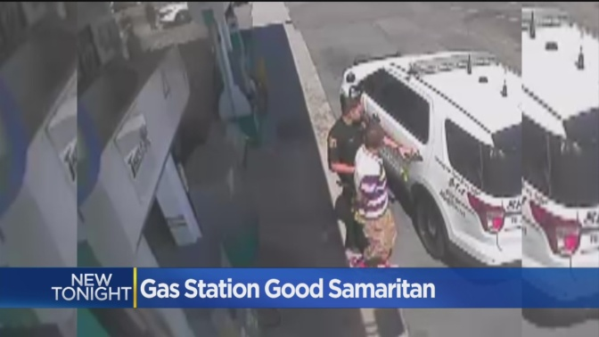 Gas Station Clerk Saves Woman From Kidnapping