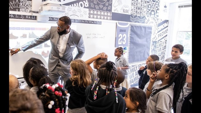 More Than Just An Athlete: LA-Bound LeBron Leaves Lasting Gift, Akron 'Always Home'