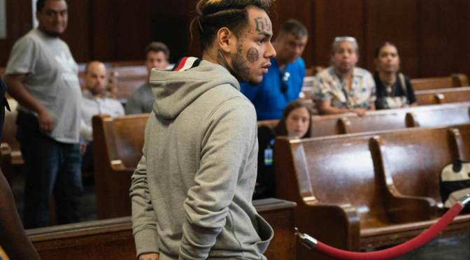 Tekashi 6ix9ine Denied Bail After Getting Arrested For Allegedly Choking Teen