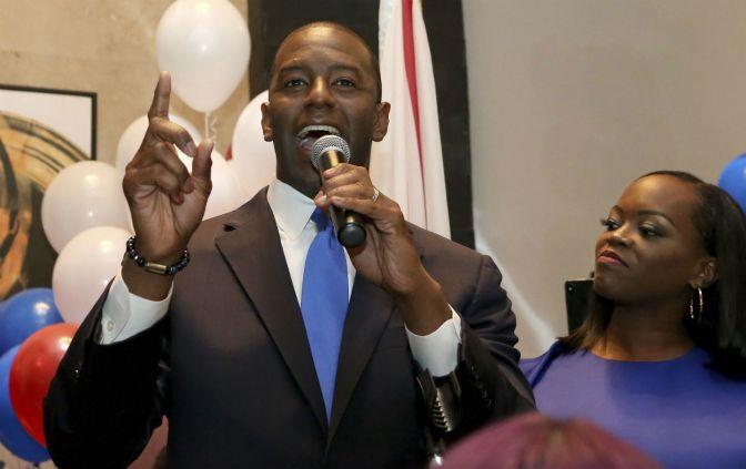Andrew Gillum Wins Democratic Primary Nomination For Florida Governor