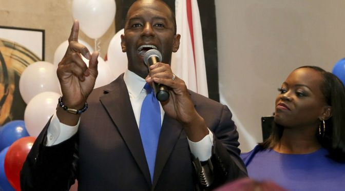Andrew Gillum Wins Democratic Primary Nomination For Florida Governor