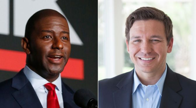 DeSantis Brings 'Monkey' Reference Into Conversation About Andrew Gillum, Gillum Responds