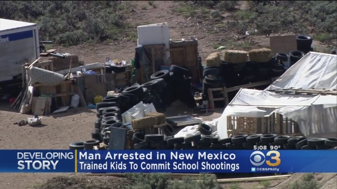 New Mexico Compound Children Were Training To Be School Shooters