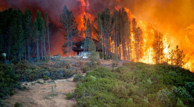 Mendocino Complex Fire Burns Over 283-Thousand Acres