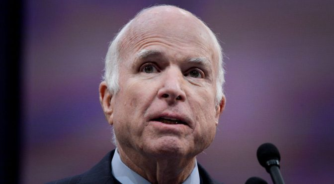 Lawmakers React To McCain Cancer Announcement